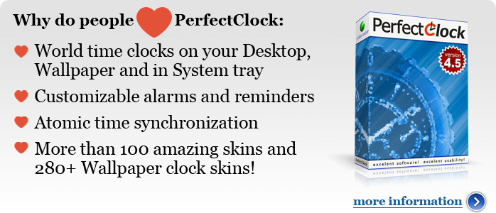 Why people love PerfectClock