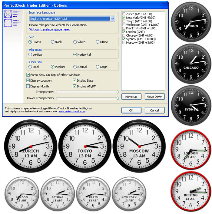 PerfectClock Trader Edition 1.0.1